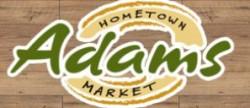 Adams hometown market logo