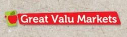 Great Valu Markets logo