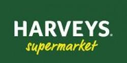 Harveys Supermarket logo