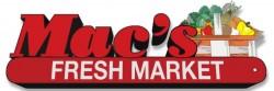 Mac's Fresh Market logo