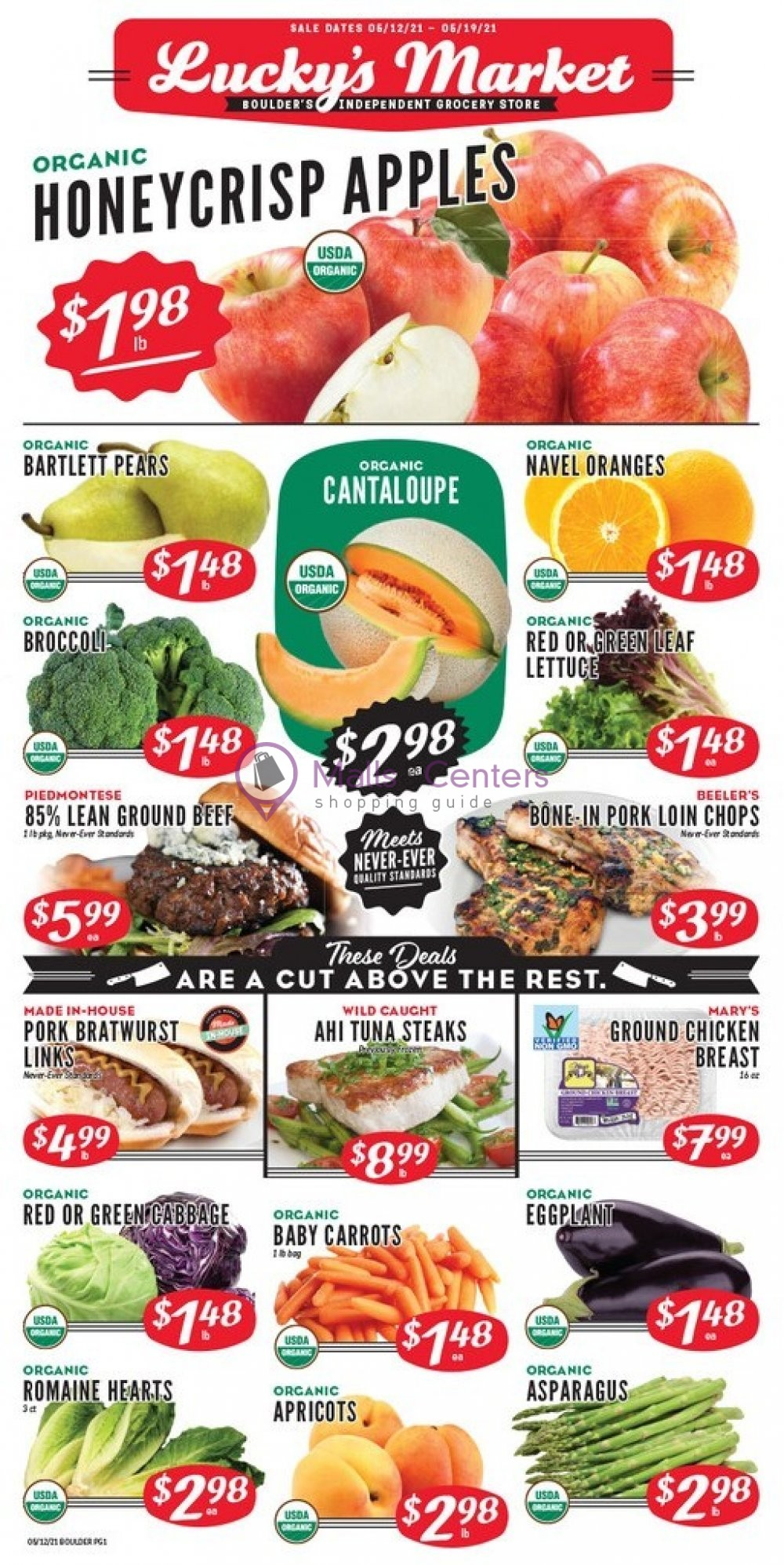 weekly ads Lucky's Market - page 1 - mallscenters.com