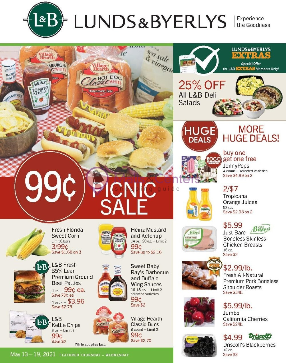 weekly ads Lunds & Byerlys - page 1 - mallscenters.com