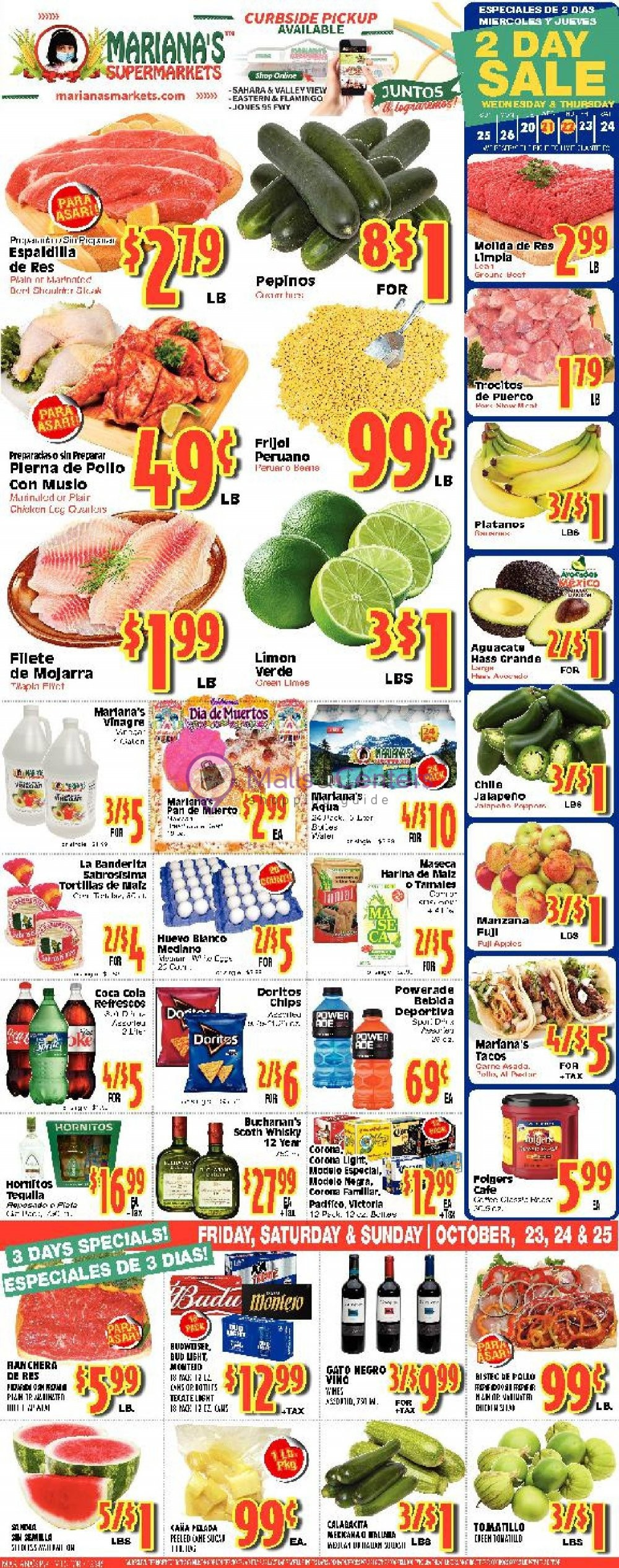 weekly ads Mariana's Supermarkets - page 1 - mallscenters.com