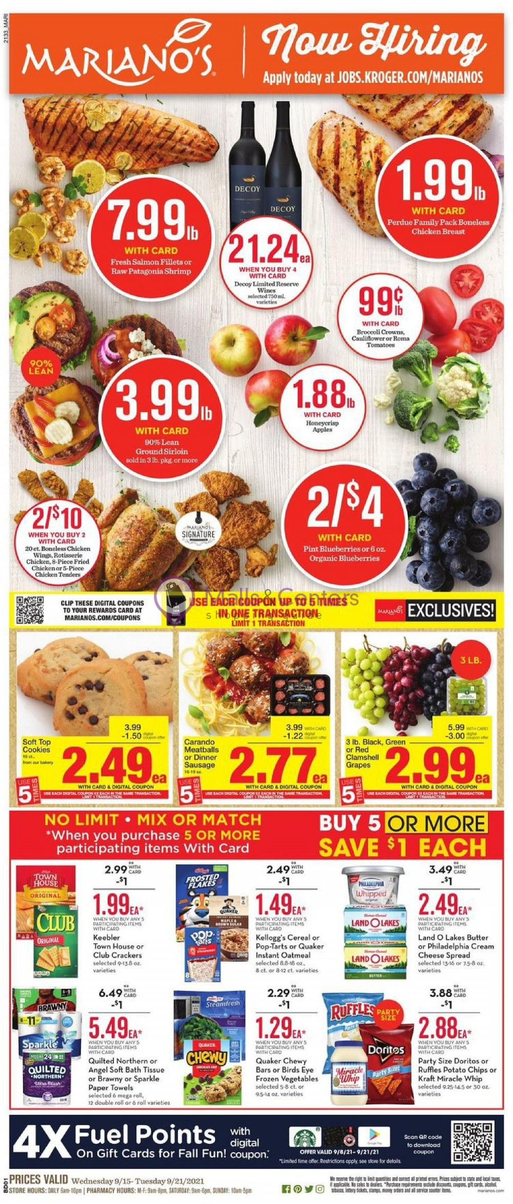 weekly ads Mariano's - page 1 - mallscenters.com