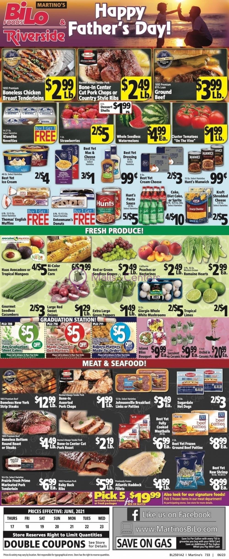 weekly ads Martino's Bi-lo - page 1 - mallscenters.com