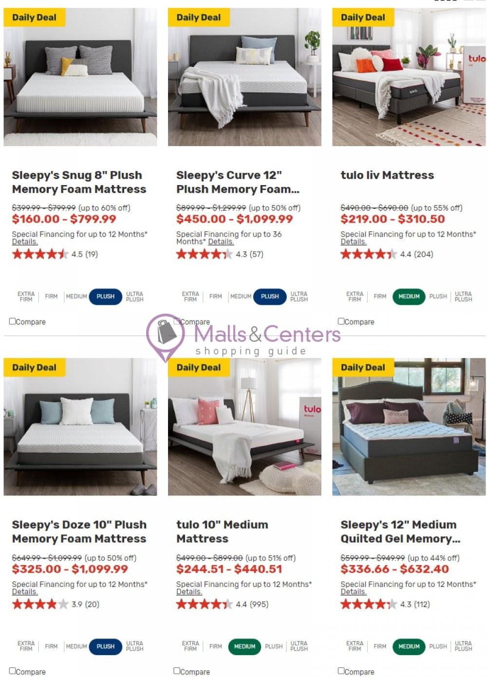 weekly ads Mattress Firm - page 1 - mallscenters.com