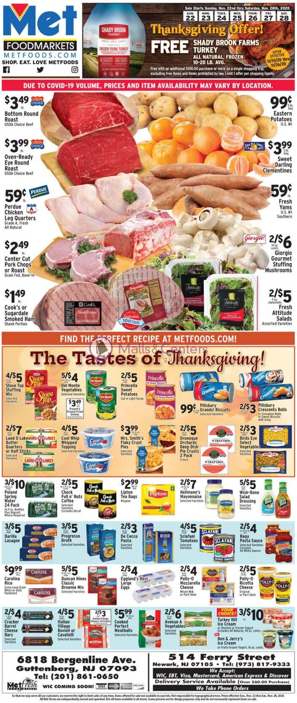 weekly ads Met Foodmarkets - page 1 - mallscenters.com