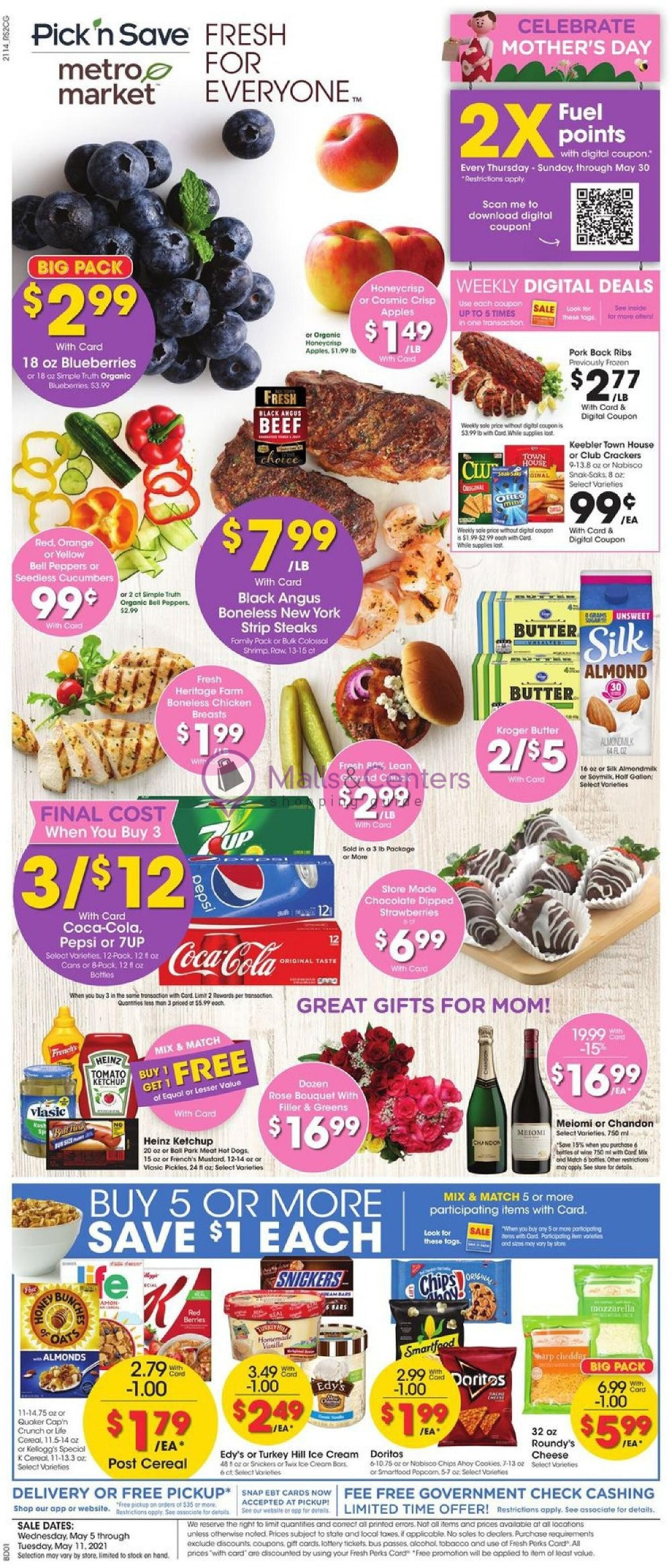 weekly ads Metro Market - page 1 - mallscenters.com