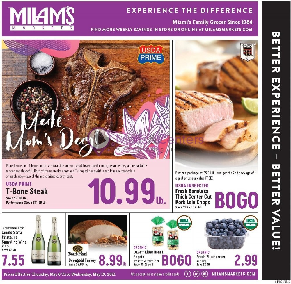 weekly ads Milam's Market - page 1 - mallscenters.com