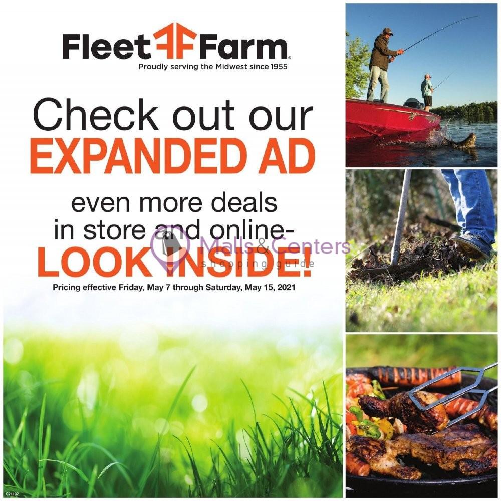 weekly ads Mills Fleet Farm - page 1 - mallscenters.com