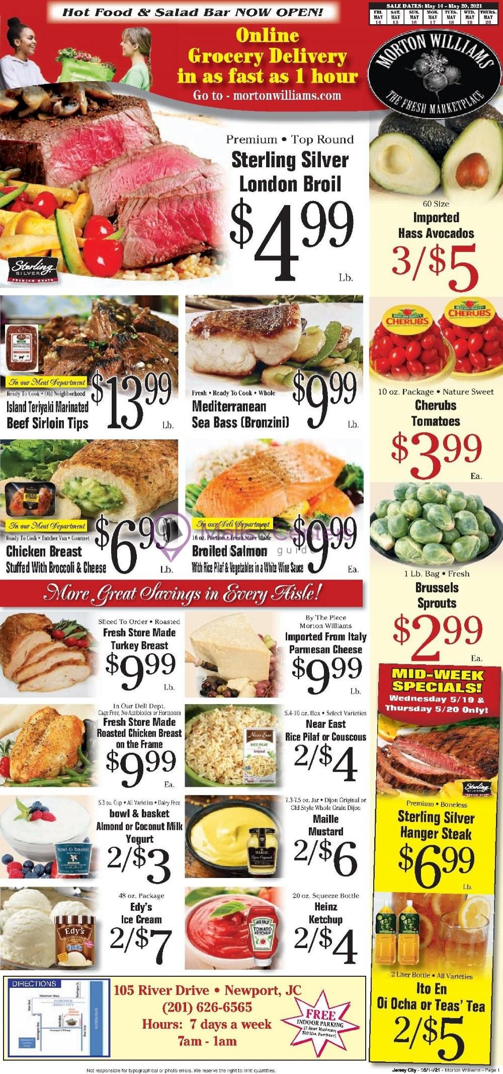 weekly ads Morton Williams Supermarket - page 1 - mallscenters.com