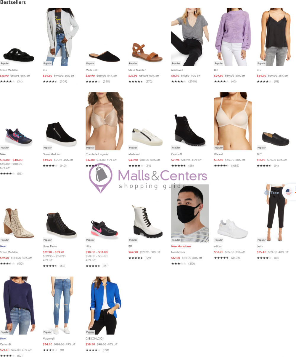weekly ads Nordstrom - page 1 - mallscenters.com