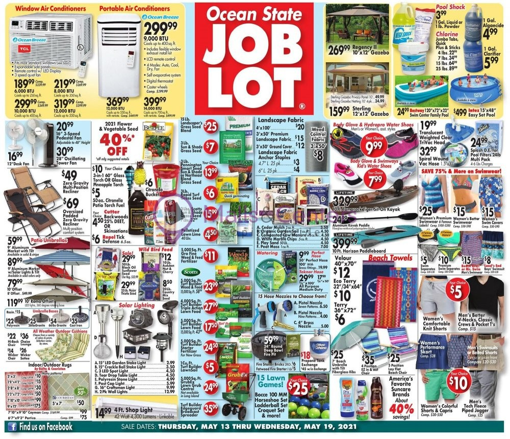 weekly ads Ocean State Job Lot - page 1 - mallscenters.com