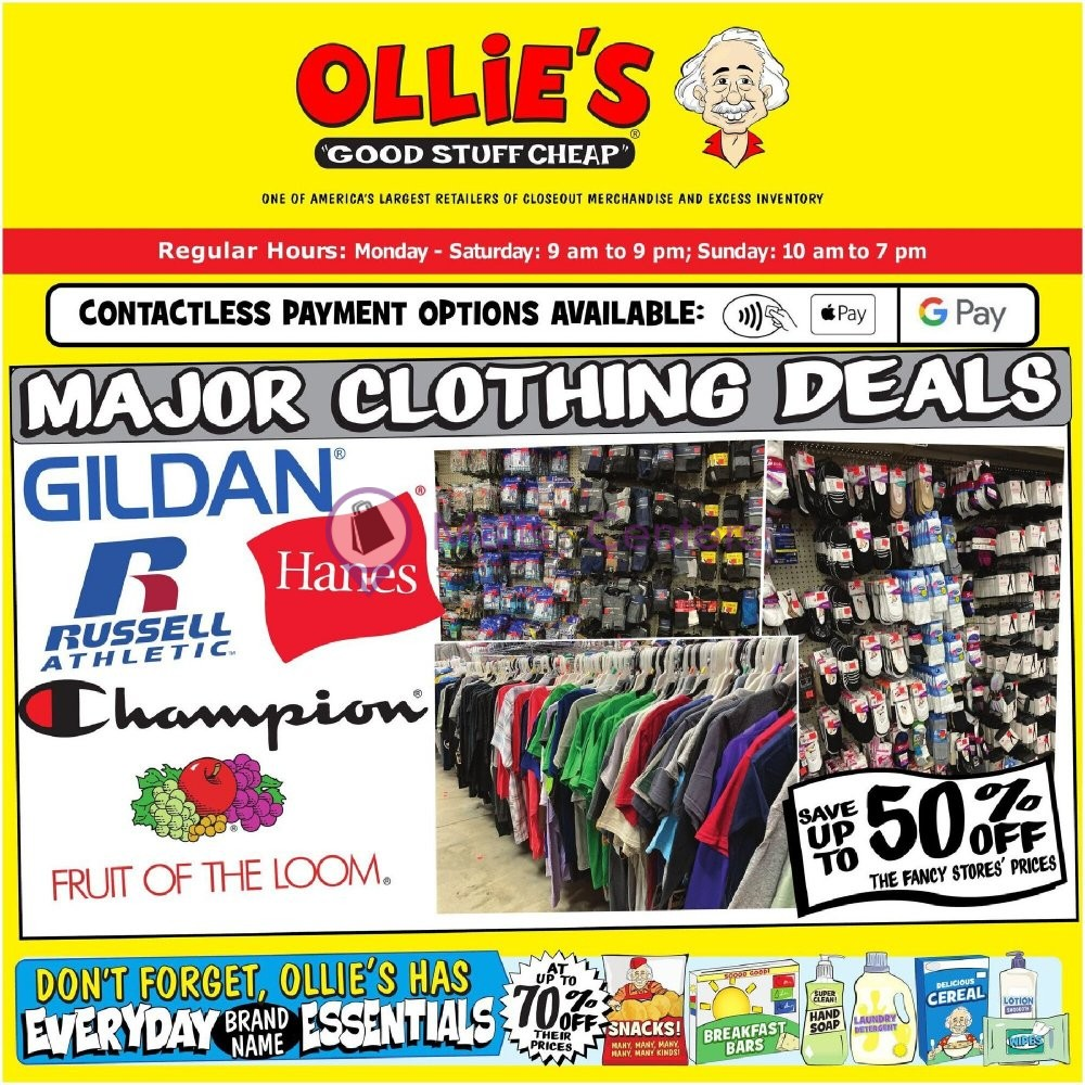 weekly ads Ollie's Bargain Outlet - page 1 - mallscenters.com