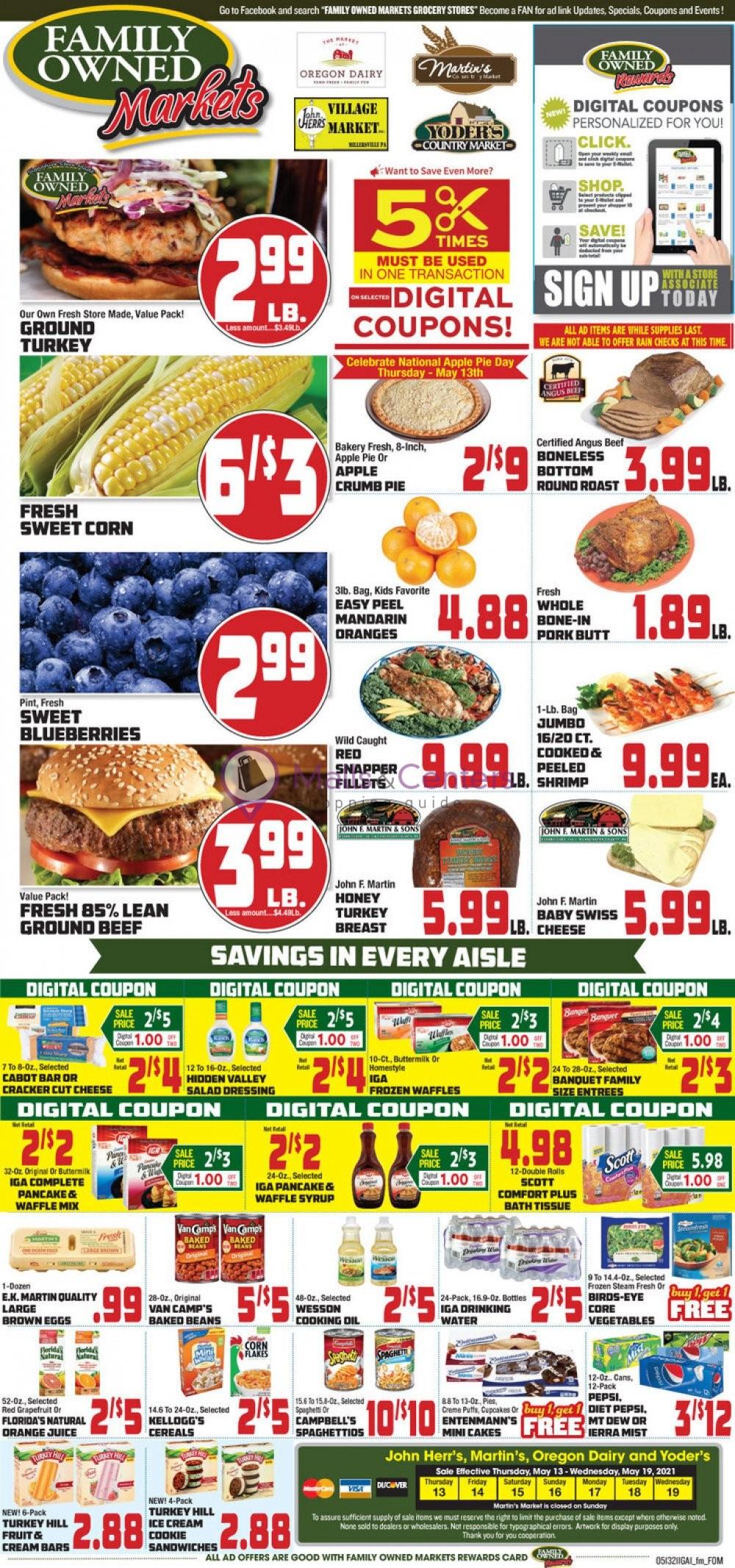 weekly ads Oregon Dairy Supermarket - page 1 - mallscenters.com