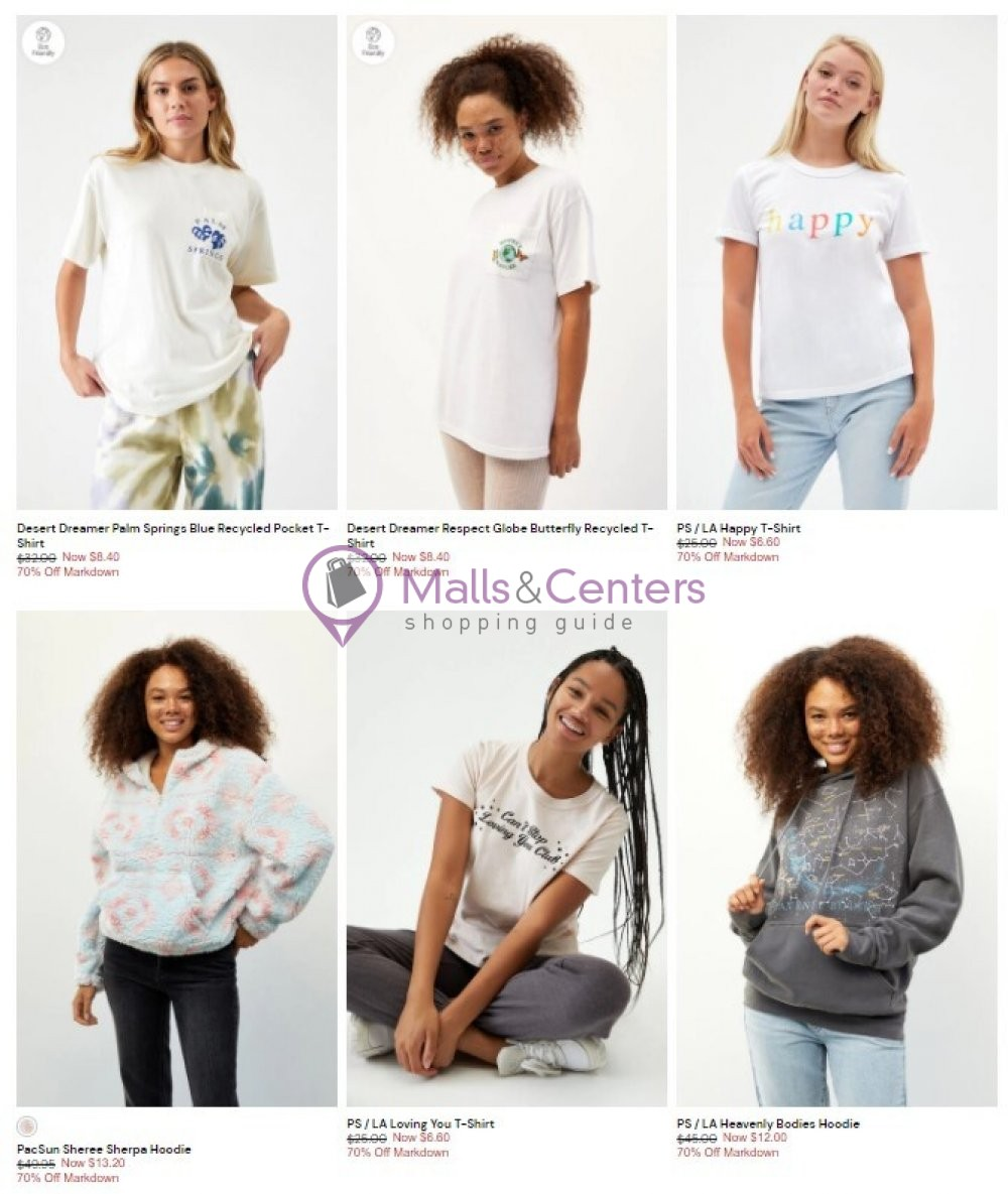 weekly ads PacSun - page 1 - mallscenters.com
