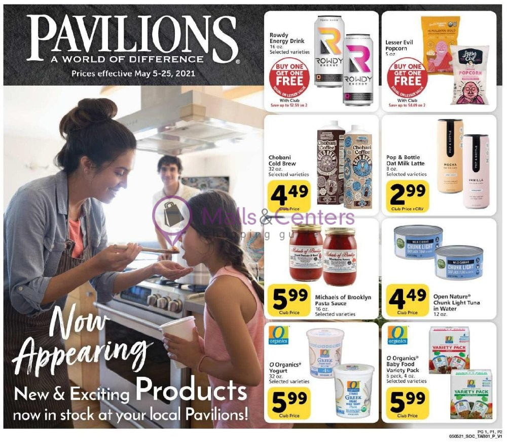 weekly ads Pavilions - page 1 - mallscenters.com