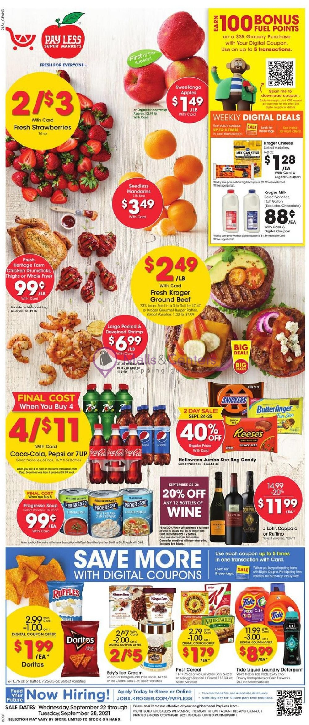 weekly ads Pay Less Super Markets - page 1 - mallscenters.com