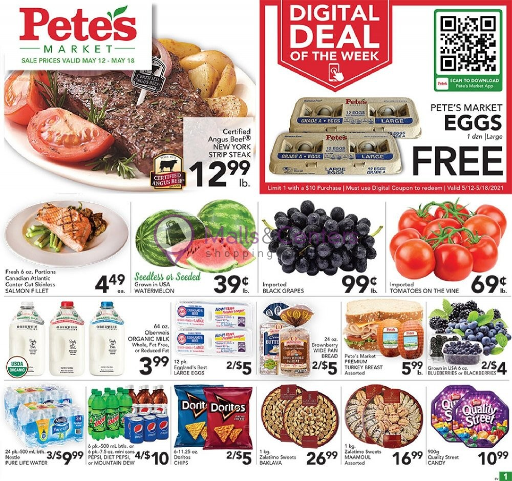 weekly ads Pete's Fresh Market - page 1 - mallscenters.com