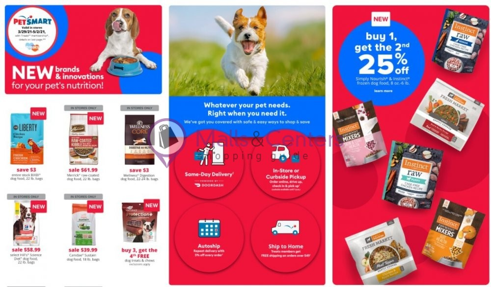 weekly ads PetSmart - page 1 - mallscenters.com