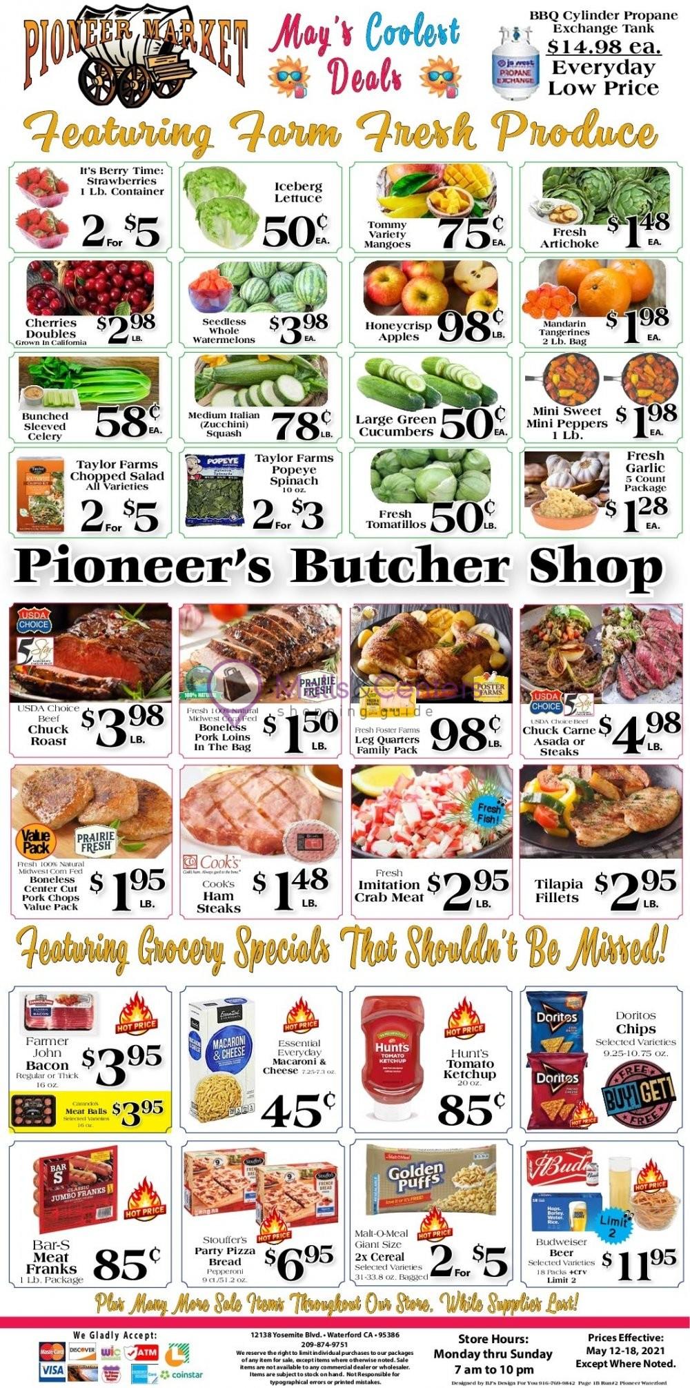 weekly ads Pioneer Supermarket - page 1 - mallscenters.com