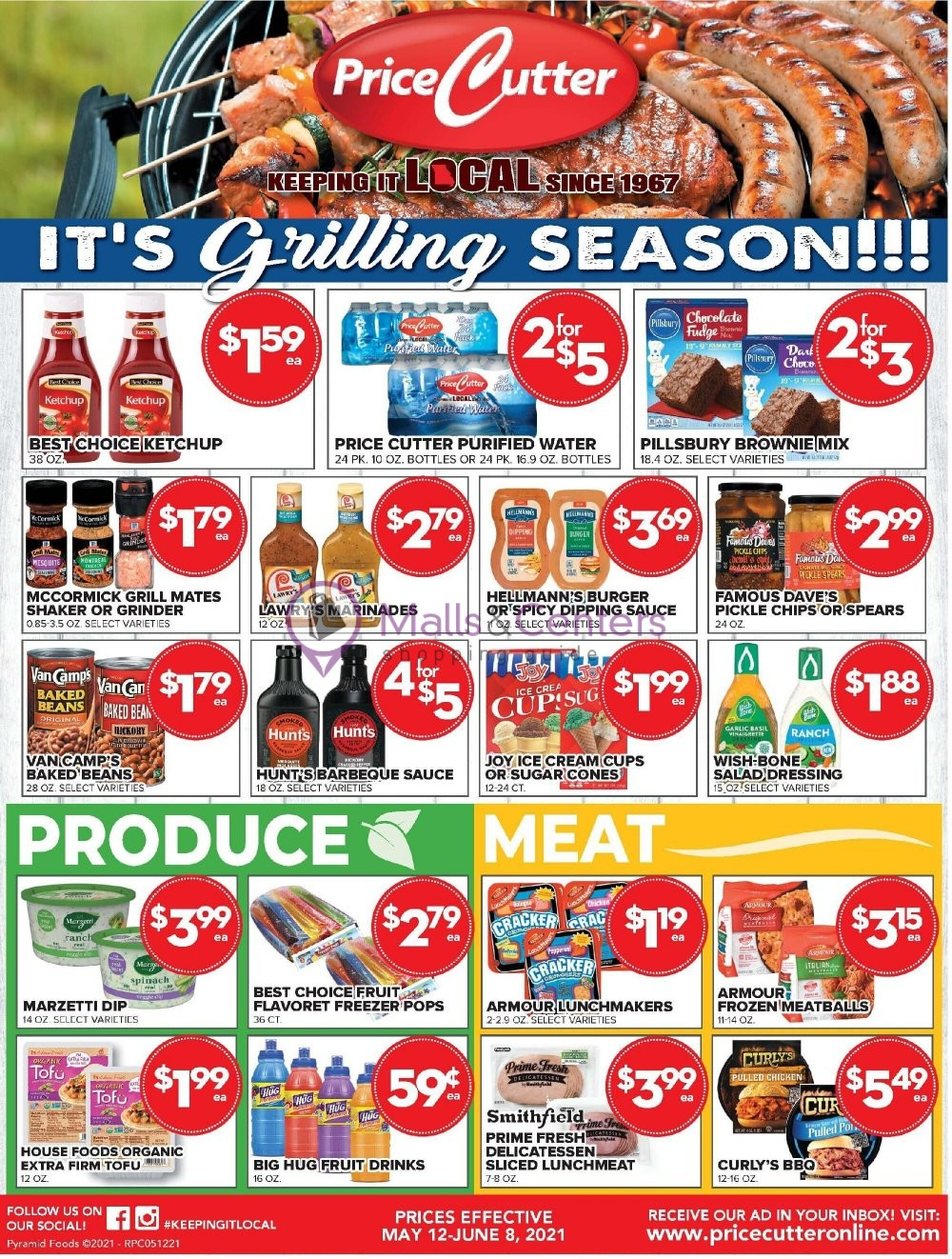 weekly ads Price Cutter - page 1 - mallscenters.com