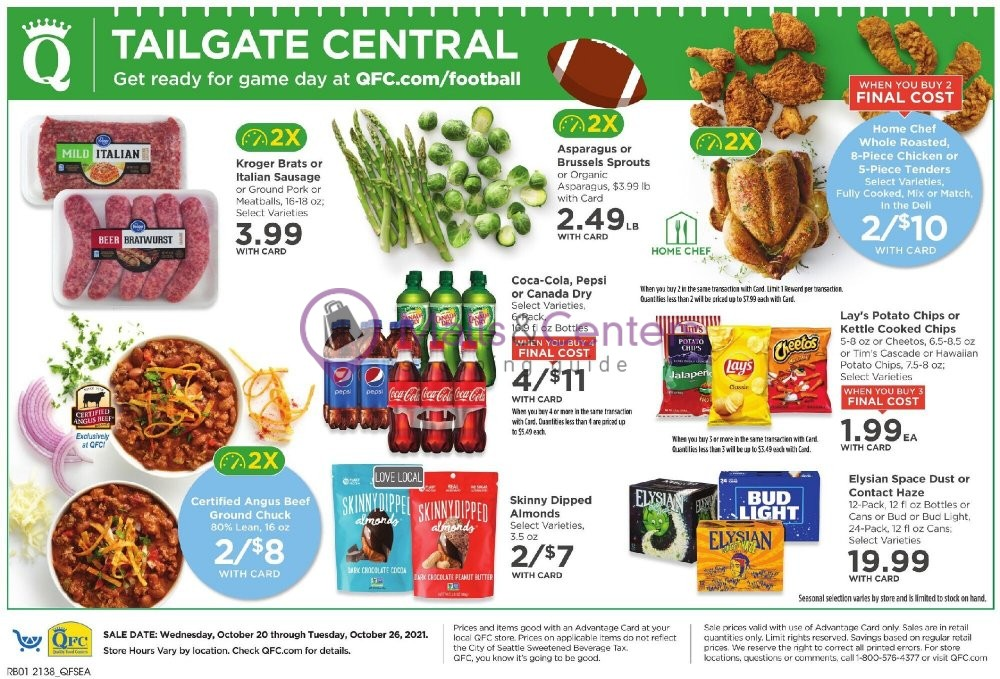 weekly ads QFC Quality Food Centers - page 1 - mallscenters.com