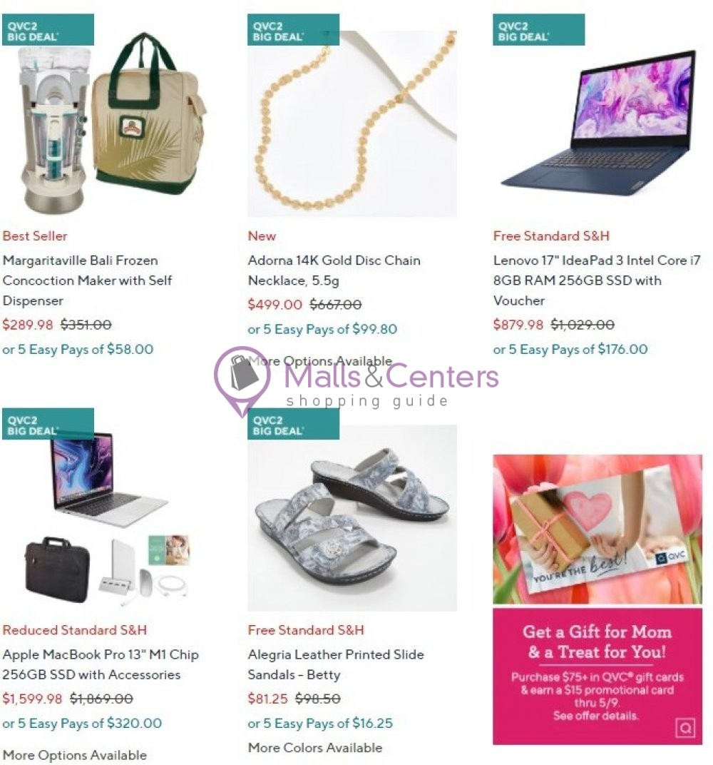 weekly ads QVC - page 1 - mallscenters.com