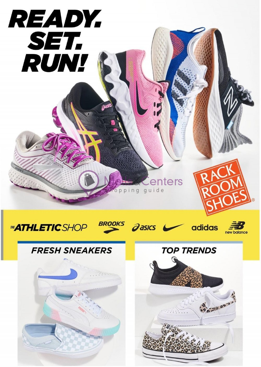 weekly ads Rack Room Shoes - page 1 - mallscenters.com
