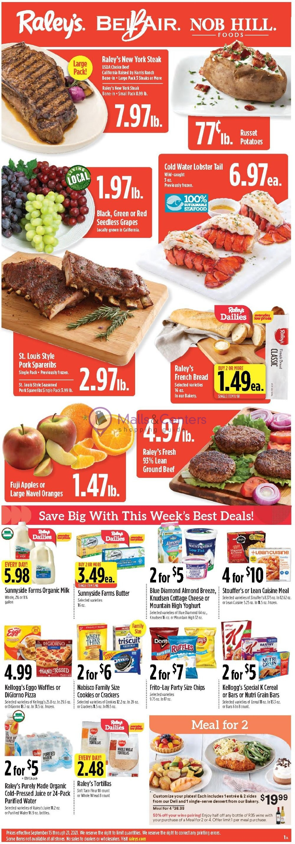 weekly ads Raley's - page 1 - mallscenters.com