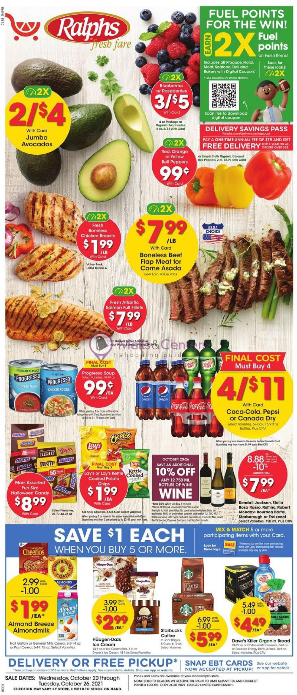 weekly ads Ralphs - page 1 - mallscenters.com