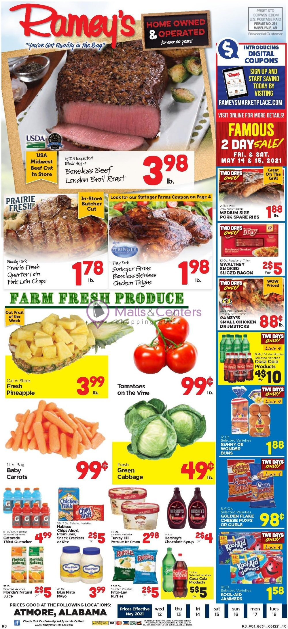 weekly ads Ramey's - page 1 - mallscenters.com