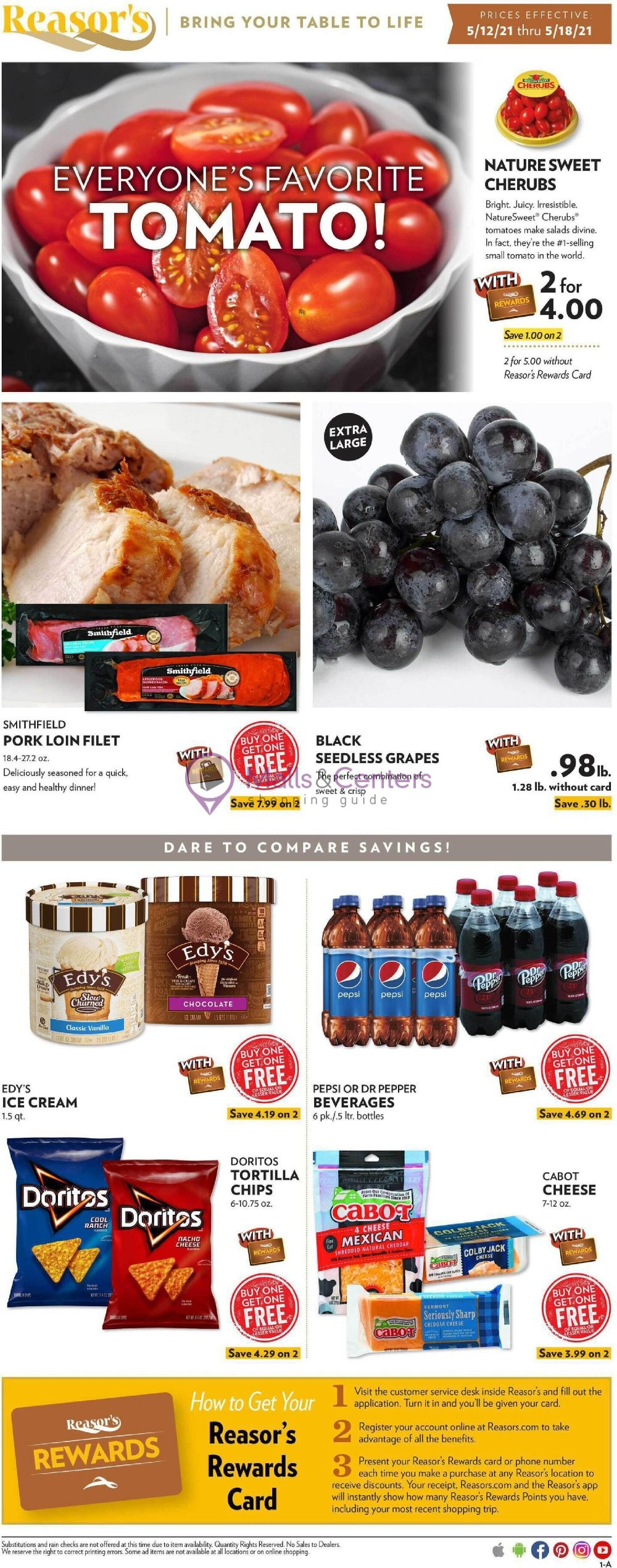 weekly ads Reasor's - page 1 - mallscenters.com