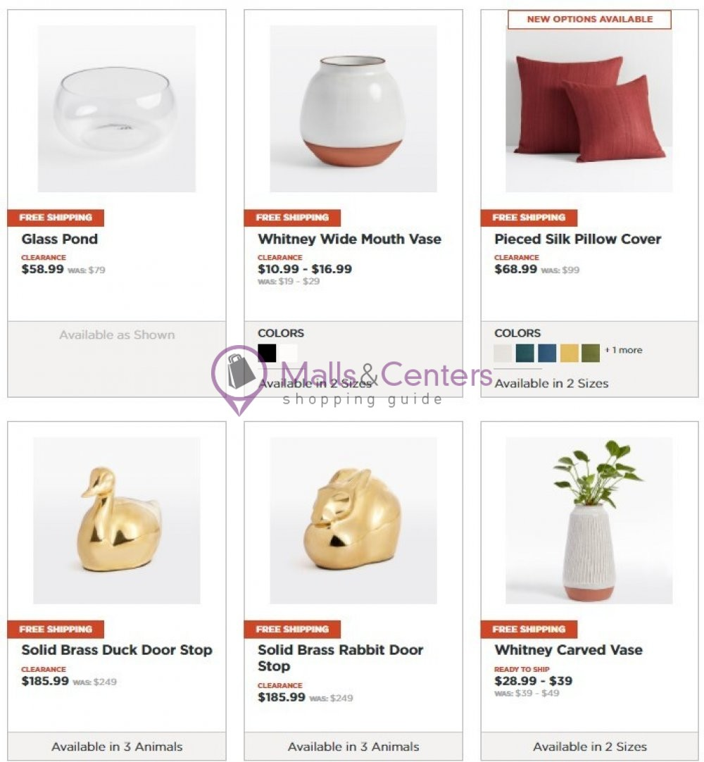 weekly ads Rejuvenation - page 1 - mallscenters.com
