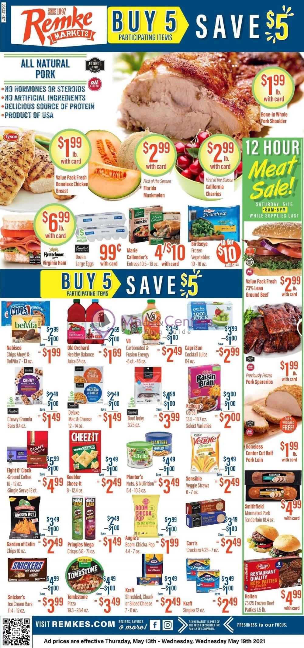 weekly ads Remke Bigg's - page 1 - mallscenters.com
