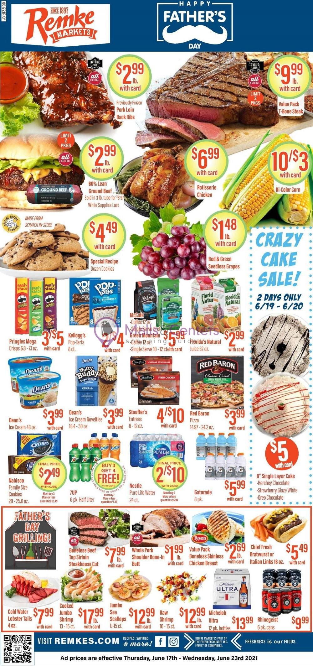 weekly ads Remke Markets - page 1 - mallscenters.com