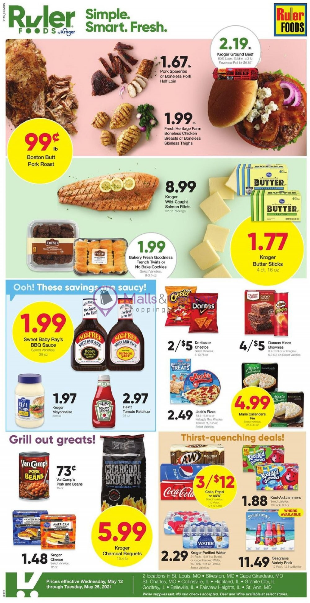weekly ads Ruler Foods - page 1 - mallscenters.com