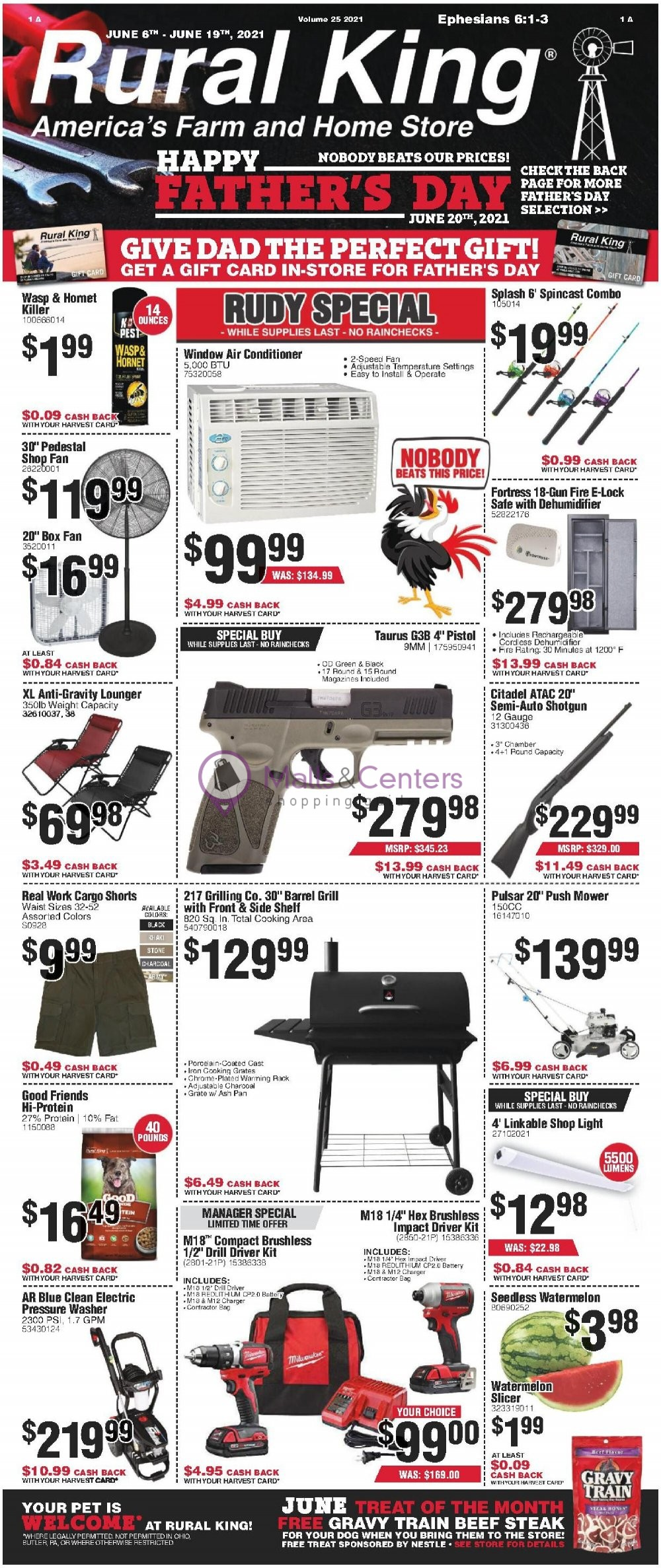 weekly ads Rural King - page 1 - mallscenters.com