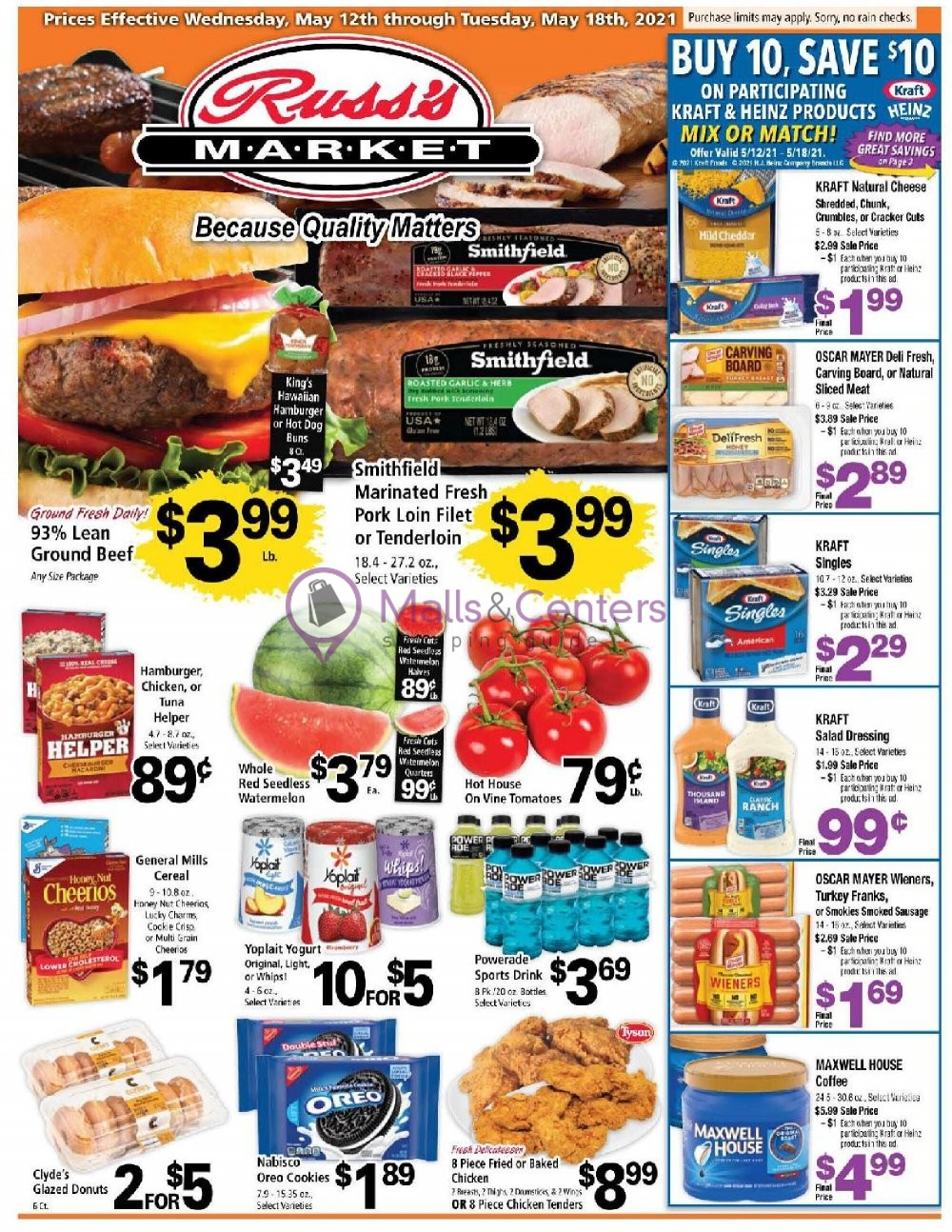 weekly ads Russ's Market - page 1 - mallscenters.com