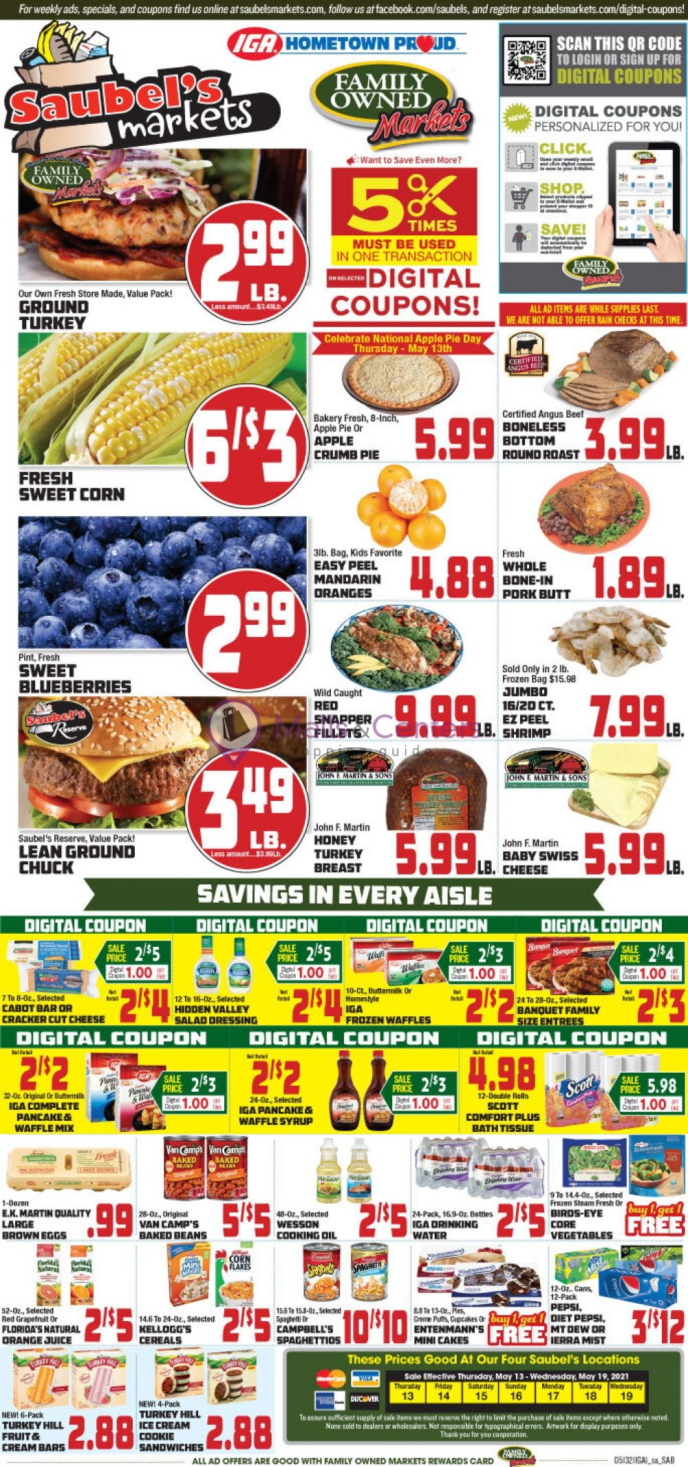 weekly ads Saubel's Market - page 1 - mallscenters.com