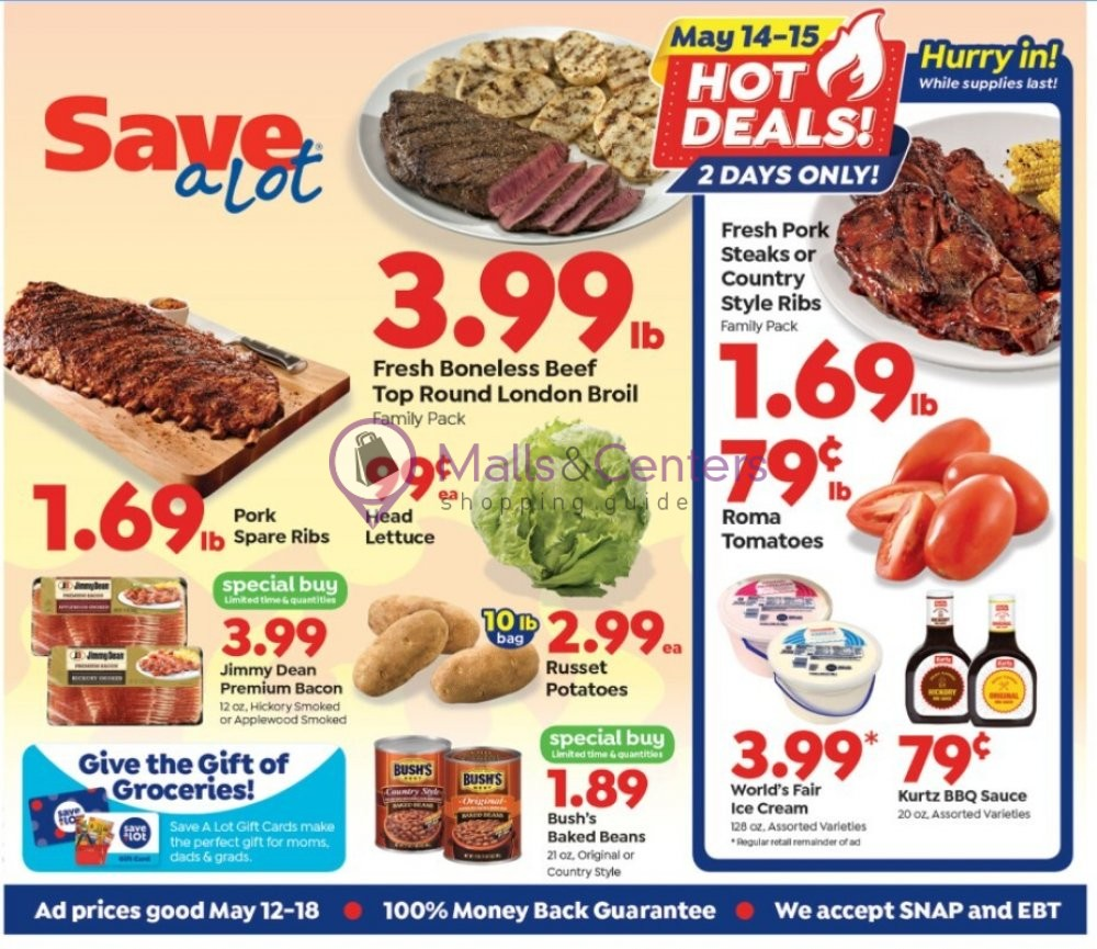 weekly ads Save a Lot food store - page 1 - mallscenters.com