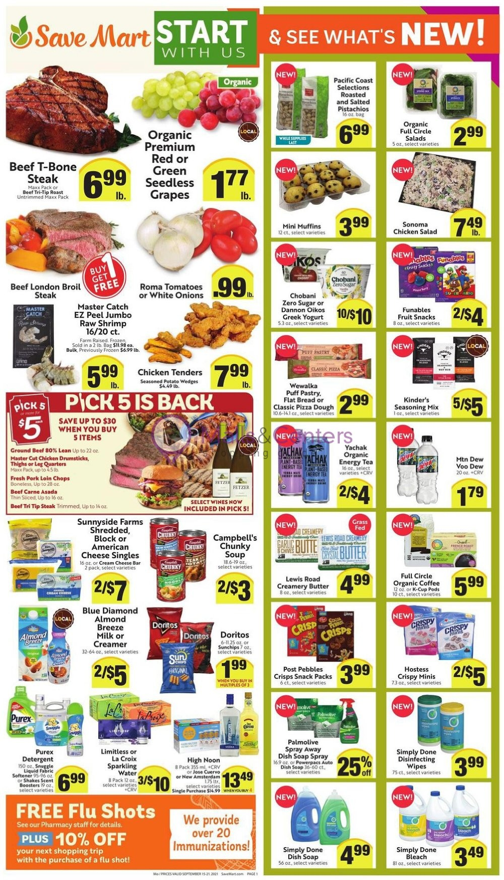 weekly ads Save Mart Supermarkets - page 1 - mallscenters.com