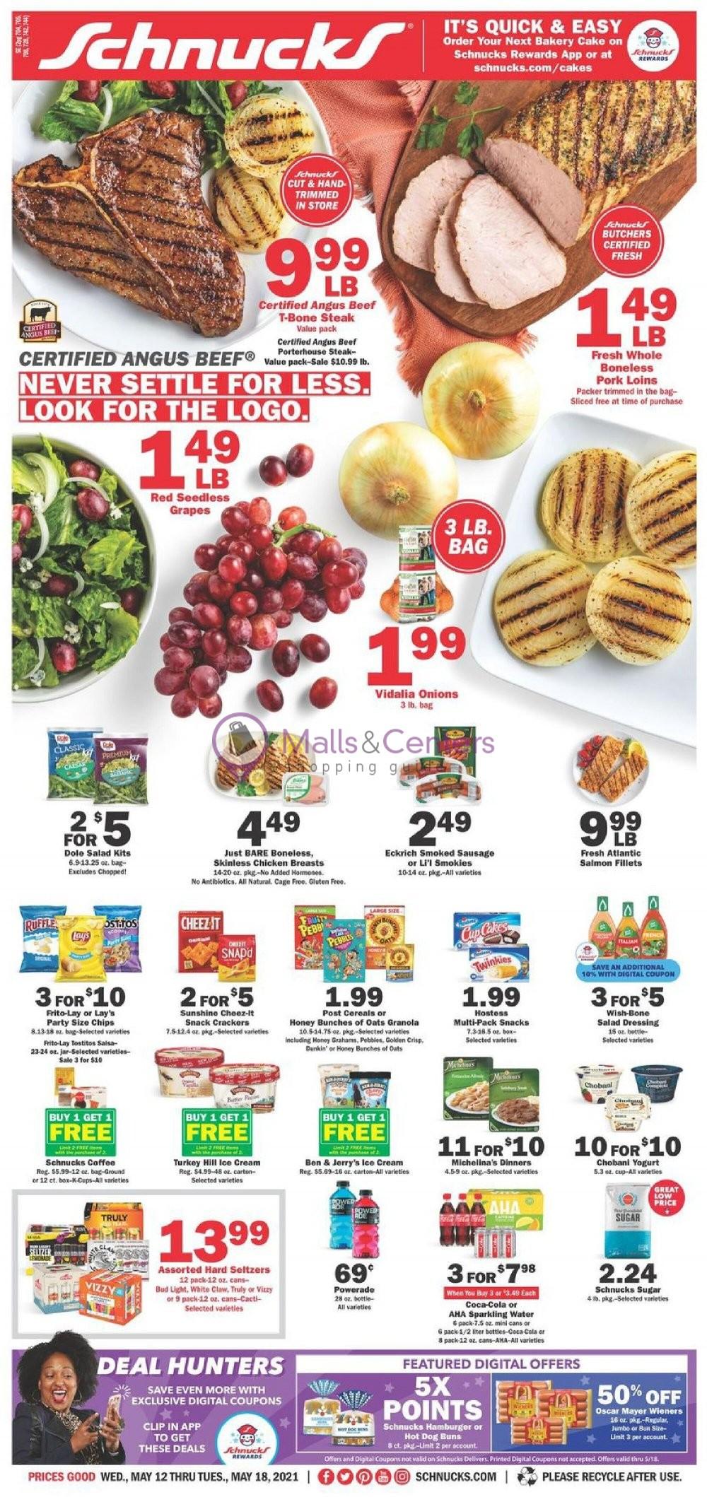 weekly ads Schnucks - page 1 - mallscenters.com