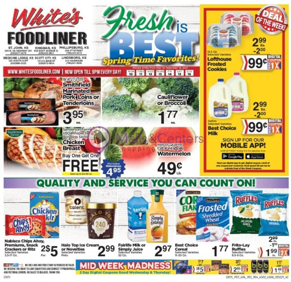 weekly ads Scott's Hometown Foods - page 1 - mallscenters.com