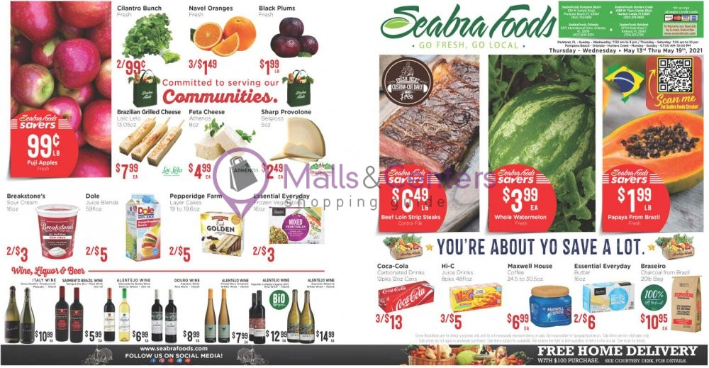 weekly ads Seabra Foods - page 1 - mallscenters.com