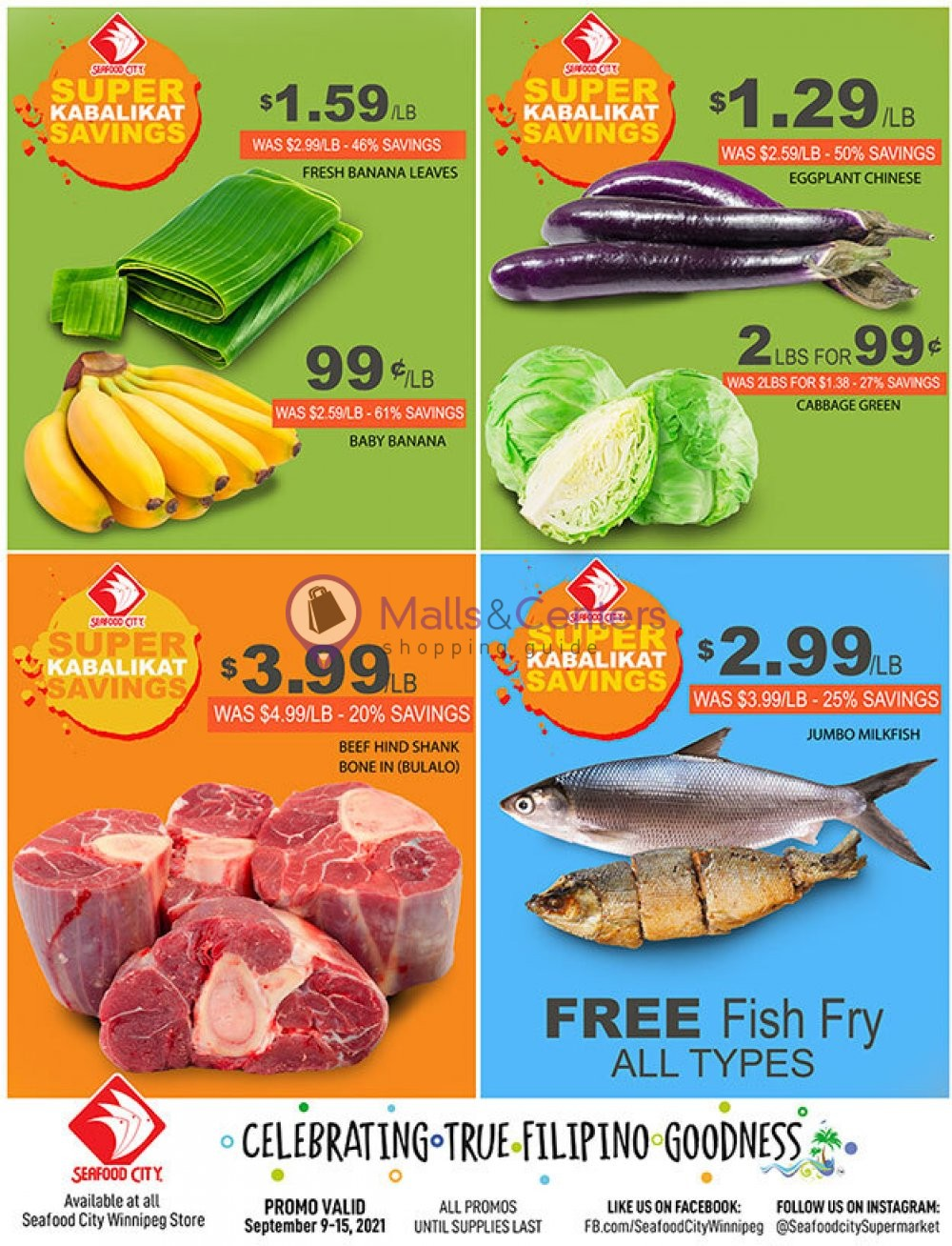 weekly ads Seafood City Supermarket - page 1 - mallscenters.com