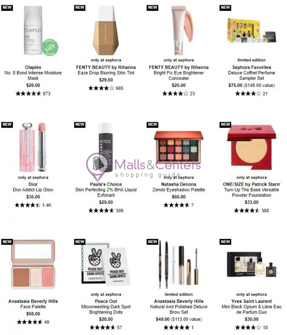 weekly ads Sephora - page 1 - mallscenters.com
