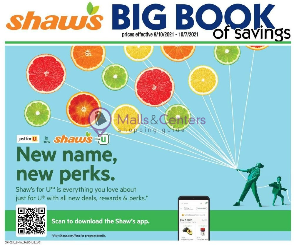 weekly ads Shaws - page 1 - mallscenters.com