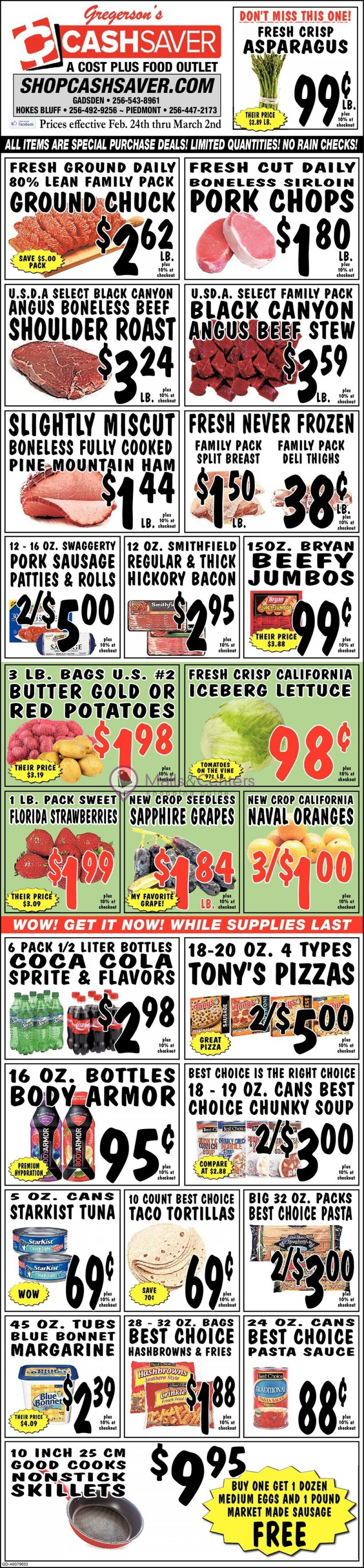 weekly ads Shop Cash Saver - page 1 - mallscenters.com