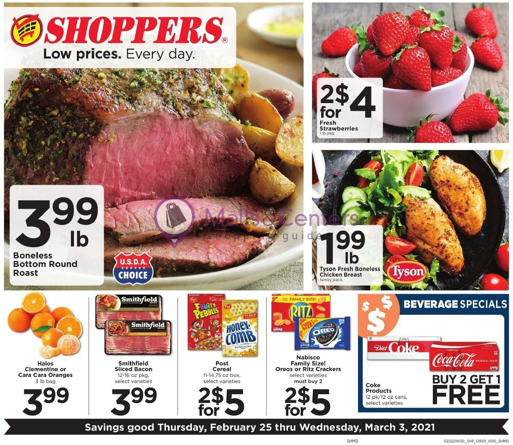 weekly ads Shoppers Food - page 1 - mallscenters.com
